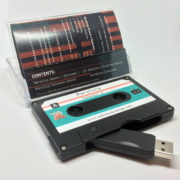 MarsCorp USB Tape Open with USB on Show